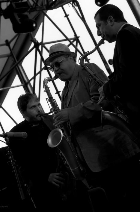 Steve Grossman, Joe Lovano and Valerio Pontrandolfo