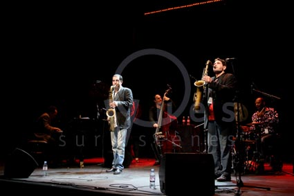 Steve Grossman Two Tenors Quintet - Alain Jean-Marie, Valerio Pontrandolfo, Mathias Allamane, Steve Grossman, Sangoma Everett - Jazz à Vienne (France) July 8, 2008