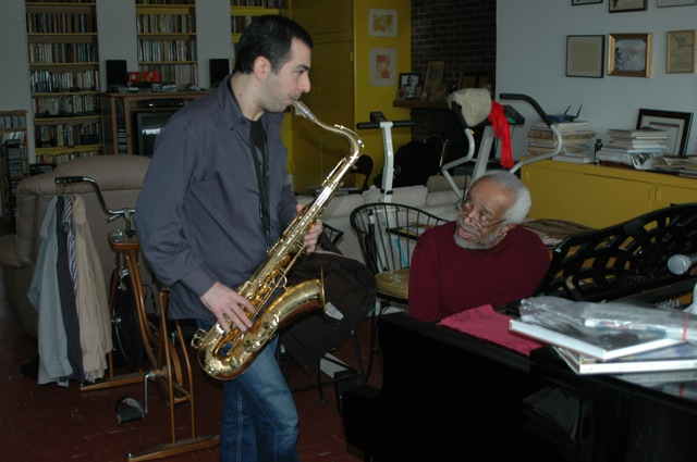 Valerio Pontrandolfo and Barry Harris - New York, 2009